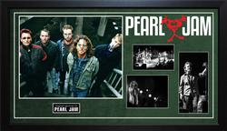 Pearl Jam Eddie Vedder Plus Full Band Autographed Custo