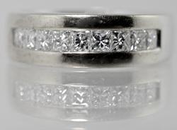 Impressive Yet Tasteful Mens Diamond Band