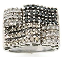 Diamond Pave Wide Band Ring