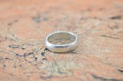 Simple Band Ring Sterling Silver