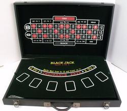 Black Jack, Craps, Roulette Travel Game, Unused