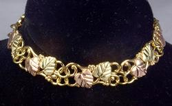 Ladies Black Hills Gold Bracelet