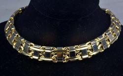Mens 14kt Italian Bracelet