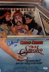 Cheech And Chong Signed Up In Smoke Movie 12x18 Poster