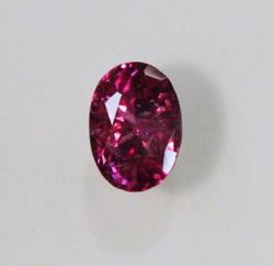 Beautiful Natural Oval Ruby - 0.50 ct.