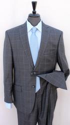 Superb Gray Color Plait Suit, Made By Galante