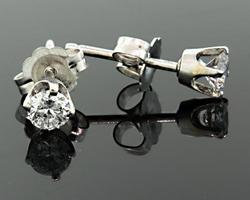 0.30 CTW Diamond Stud Earrings