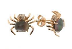 Spider Silver Earrings