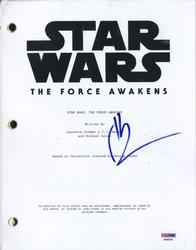 JJ Abrams Signed Star Wars The Force Awakens Script PSA