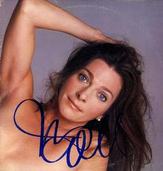 Judy Collins Signed Hard Times For Lovers Album Cover A