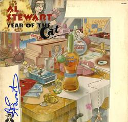 Al Stewart Autographed Signed Year Of The Cat Album Cov