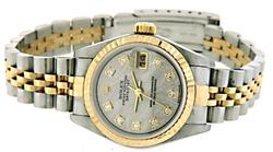 Ladies Rolex DateJust Two Tone 18K/SS