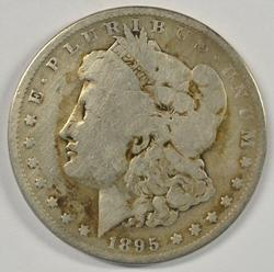 The Rare 1895-O Morgan Silver Dollar. Circ