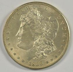 Lovely BU 1888-S Morgan Silver Dollar. Key date