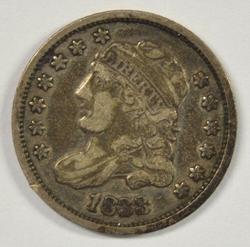 Nice sharp 1833 Capped Bust Half Dime