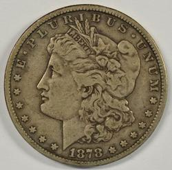 Nice key date 1878-CC Morgan Silver Dollar