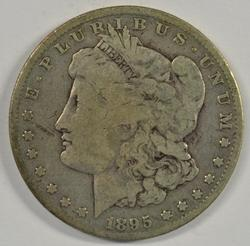 Rare key date 1895-O Morgan Silver Dollar. Nice circ