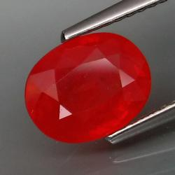 Vivid 2.23ct Imperial Red Sapphire