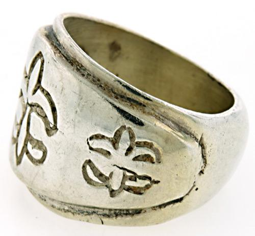 heavy sterling silver ring usauctiononline