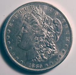 1885-O Uncirculated Morgan $