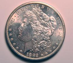 1882-S Uncirculated Morgan $