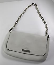 Small Gucci Cream Leather Purse