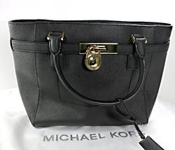 Michael Kors Black Satchel Purse