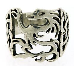 Celtic Sterling Silver Vintage Ring