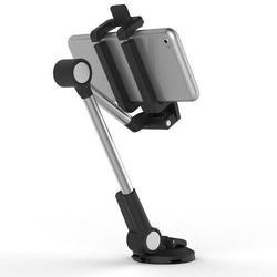 Tablet and Smartphone Adjustable Long Handle Holder
