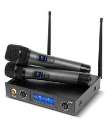 Wireless 2-Channel Cordless Microphone System
