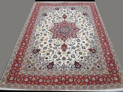 Darling Very Fine Handmade Part Silk Royal Persian Tabriz Carpet