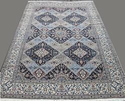 Investment Quality Handmade Part Silk Royal Persian Rug