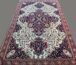 Utterly Inspiring Authentic Handmade Persian Ferahan, circa 1890 with C/O