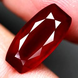 Premium 5.58ct fancy cut Ruby center stone