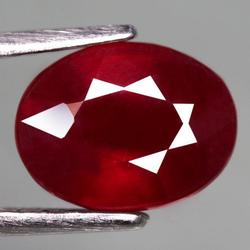 Top blood red 3.34 carat Ruby