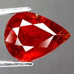 Rich 3.97ct untreated blood orange Spessartite Garnet