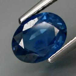 Ravishing cornflower blue 1.53ct Sapphire