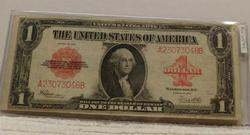 1923 Large $1.00 Size US Note, lightly circulated