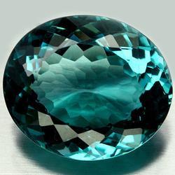 Ravishing 26.41ct designer aqua blue Quartz