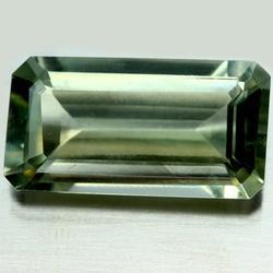 Stunning 15.11ct green emerald cut Amethyst