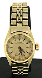 Solid 14kt Gold Vintage Ladies Rolex