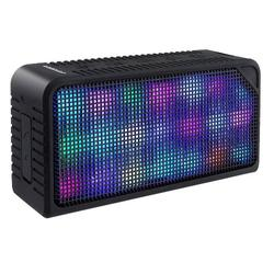 Wireless Speaker with 7 LED Modes and Built In Mic