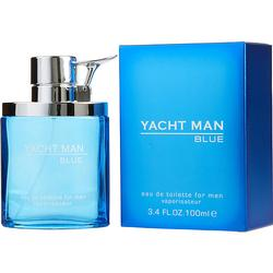YACHT MAN BLUE by Myrurgia EDT SPRAY 3.4 OZ