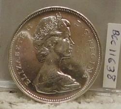 1966 Canada Silver (80%) Dollar, Uncirculated
