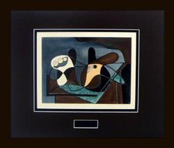 INTRIGUING LIMITED EDITION SILKSCREEN BY PICASSO
