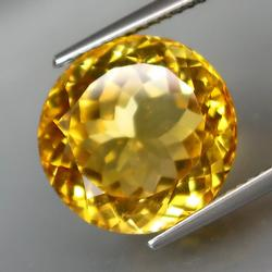 Brilliant 10.16ct 100% natural top yellow Citrine
