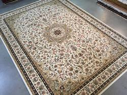 Timeless Detailed Classic Medallion Design Rug 9x13