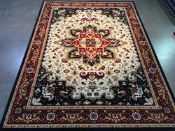 Timeless Detailed Classic Medallion Design Rug 8x11