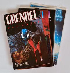 1990's Grendel War Child Comic Series, 9 of 10 Issues