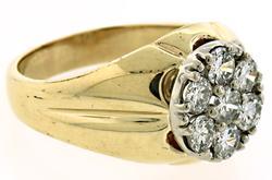 Gents 1.5 CTW Diamond Wedding Ring